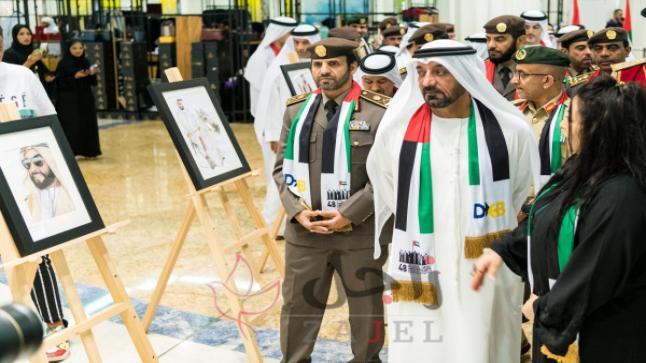 أحمد بن سعيد يحضر احتفالات مطارات دبي باليوم الوطني