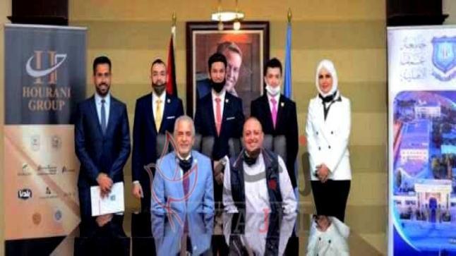 """عمان الاهلية تقدم منحا دراسية كاملة لطلبة فريقها الفائز محليا بجائزة """"هالت"""" العالمية"""