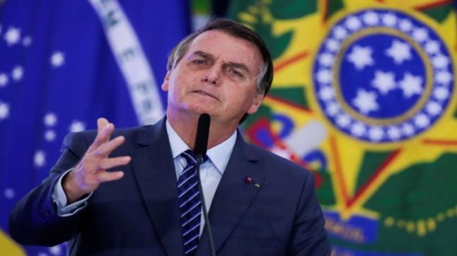 معاقبة رئيس البرازيل لانتهاكه الحجر الصحي