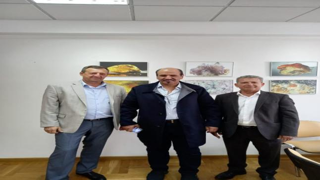 محمد العُطي يزور المركز الحكومي للاحجار الكريمة