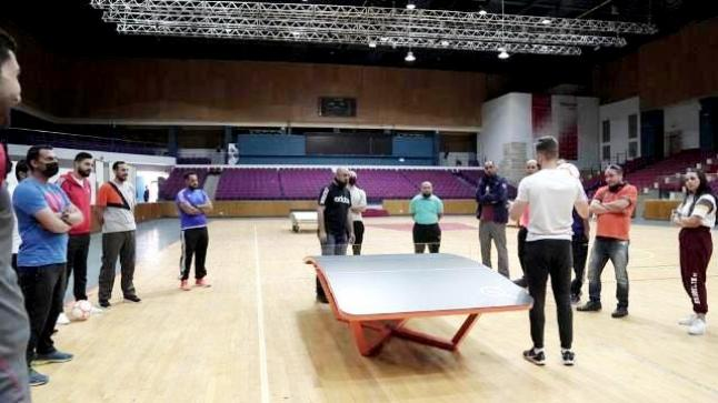 رياضة الـ Teqball تنطلق من جامعة عمان الاهلية بتنظيم دورة الحكام والمدربين