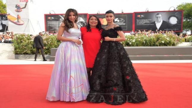 المخرجة هيفاء منصور الحاصلة على جائزة الاسد الذهبي