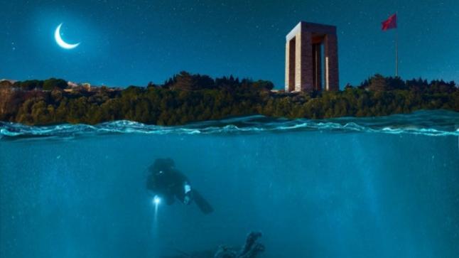 افتتاح حديقة تاريخية تحت الماء في تركيا