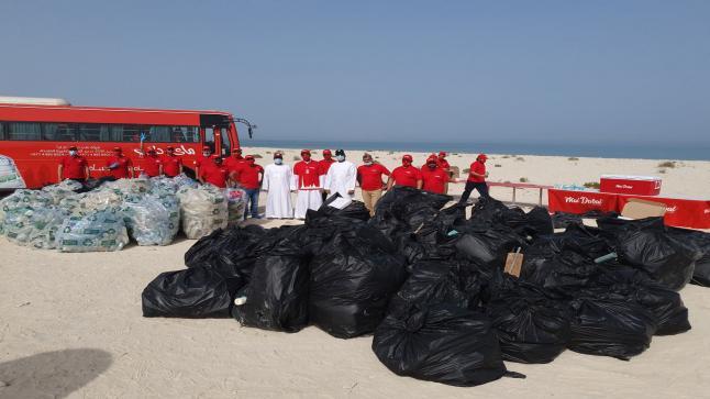 """""""ماي دبي"""" تنظم حملة نظافة بالتعاون مع """"بلدية دبي"""""""