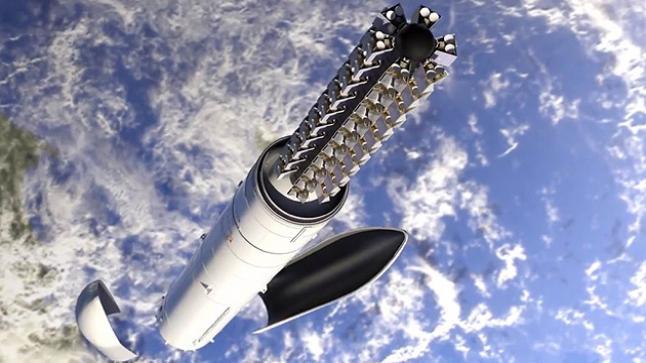 شركة سبيس اكس العالمية تستعد لإطلاق مجموعة أقمار صناعية جديدة