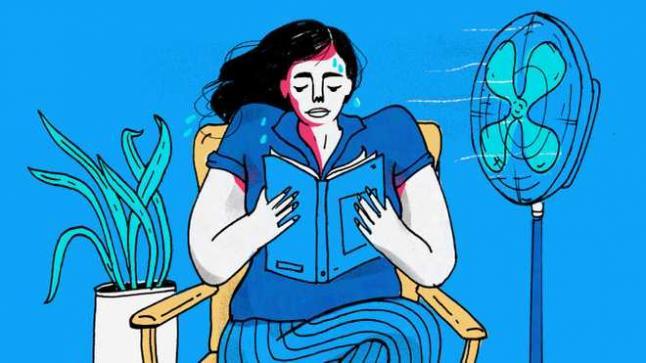 طرق لتخفيف أعراض سن اليأس عند النساء