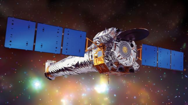 تلسكوب ناسا يظهر مجموعة من المجرات في كوكبة كرين