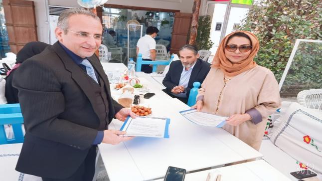 القاسمي والزيودي يوقعان مذكرة تعاون لخدمة أصحاب الهمم في دولة الإمارات العربية المتحدة