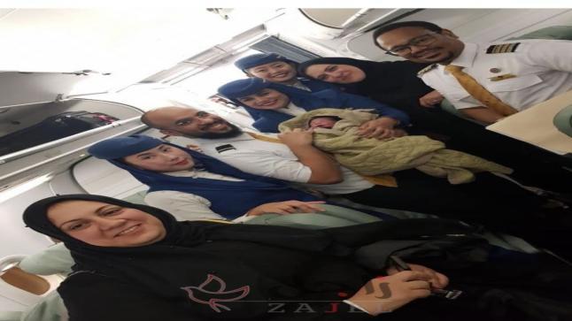 رحلة طيران تشهد ولادة ناجحة على يد طبيبة سعودية