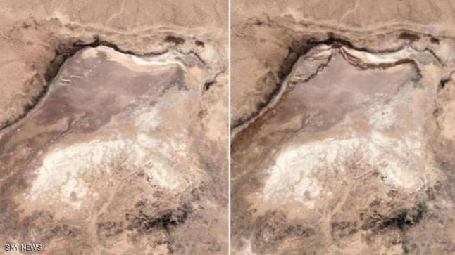صور الأقمار الصناعية تكشف ماذا فعل الزلزال في كاليفورنيا