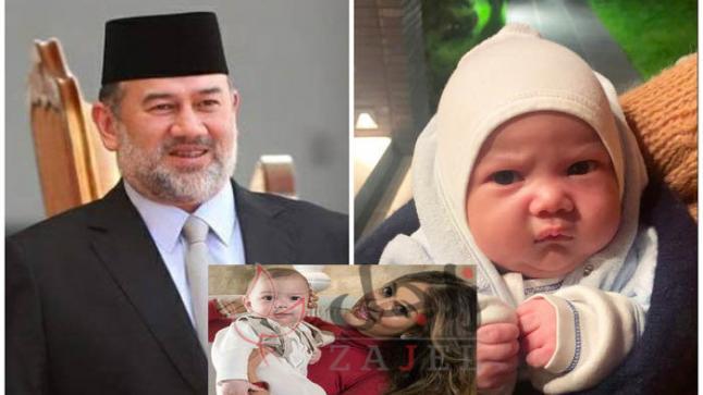 بعد التشكيك في نسبه.. طليقة ملك ماليزيا السابق تكشف وجه طفلها لأول مرة