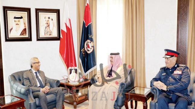 وزير الداخلية يستقبل السفير المصري.. ويشيد بالعلاقات الثنائية