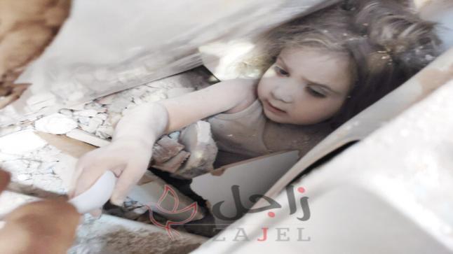 """""""معجزتنا بعد 91 ساعة اسمها عايدة""""… إنقاذ طفلة بعد مرور أربعة أيام على زلزال تركيا"""