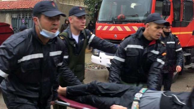 24 قتيلا داخل مرآب في المغرب بسبب الفيضانات