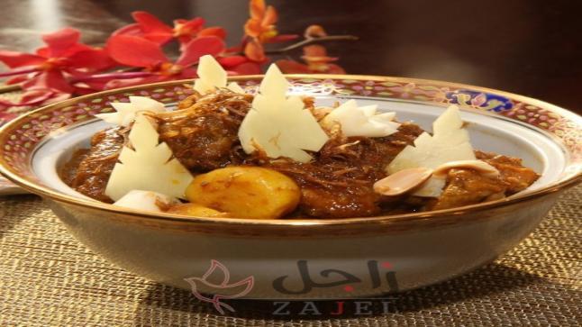 دجاج بالزنجبيل والفول السوداني