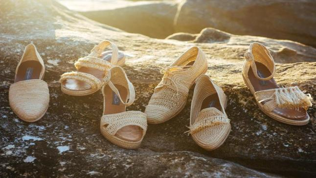 أحذية القش موضة صيف 2019