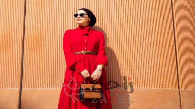 نصائح لإرتداء الفساتين الشتوية للمحجبات