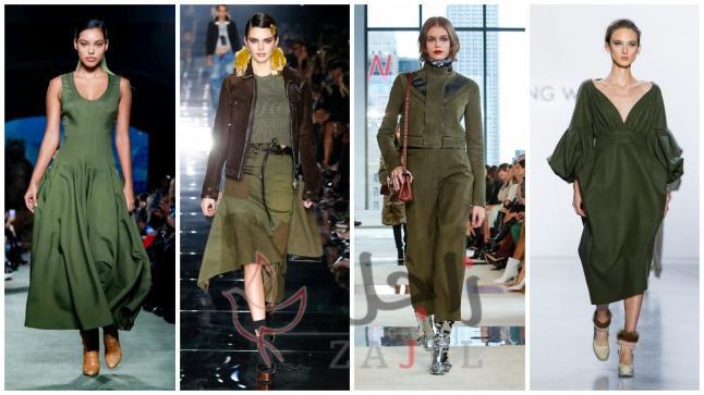 الألوان الزاهية تتصدر صيحات أسابيع الموضة لشتاء 2020
