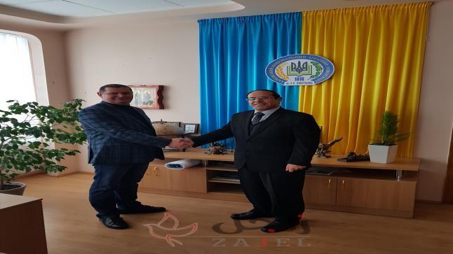 مال واعمال تلتقي نائب رئيس جامعة خاركوف الوطنية الزراعية