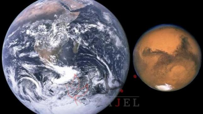 المريخ يبدأ رحلته في الاقتراب من الأرض ..